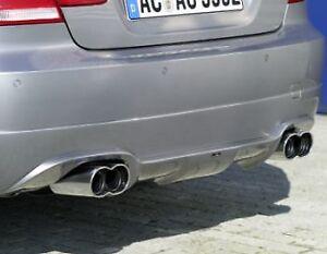 Genuine AC Schnitzer rear skirt diffuser for BMW 3 series 335i/335d E90/E91 SE