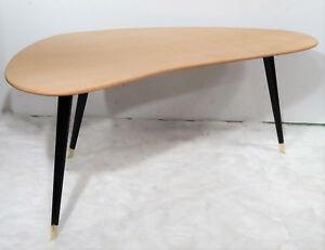 Rockabilly vintage tripot table 50s  Bumerang  Sofatisch Nierentisch