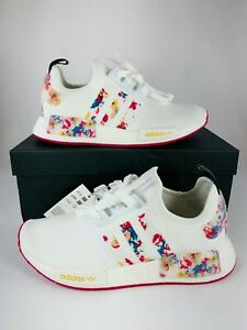 Adidas Her Studio London x NMD_R1 Floral White (Various Sizes) New Shoes FY3666