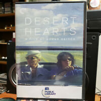 DESERT HEARTS (DVD) THE CRITERION COLLECTION Ex Library Free USA Shipping