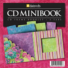 "DaisyDs GIRLFRIENDS CD MINI-BOOK scrapbooking 5""x5"" Booklet w/3 Tabbed Inserts"