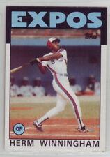 1986 Topps Baseball Montreal Expos Team Set