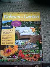 Wohnen & Garten August 2017 - Blechkuchen - Outdoor Küche und vieles mehr