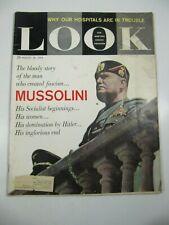 Look Magazine- August 30, 1960