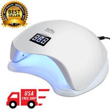 SUNUV 48W SUN5 Professional LED UV Nail Lamp Led Nail Light Nail Dryer (White)US