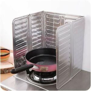 Kitchen Bar Accessories Cooking Frying Pan Oil Splash Screen Cover Anti-Splatter