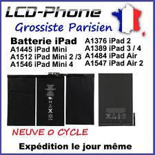 BATTERIE INTERNE iPad 2/3/4 Air 2 Mini 2/3/4 A1376/1389/1484/1547/1455/1512/1546