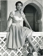 YVONNE DE CARLO beautiful Vintage Orinal Rank Studio Stamped Photo HOTEL SAHARA