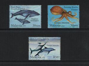 F968 Malaisie 2004 Poisson Marine 3v. MNH