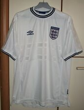 England 1999 - 2001 Home football shirt jersey Umbro size 2XL