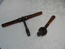 Very Rare! 1810c. Peugeot Freres Brevetes S.G.D.G.Wood Thread/Screw Tool France