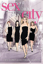 Sex and the City: The Complete First Season (DVD, 2000, 2-Disc Set, DVD...