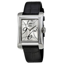 Oris Rectangular Date Automatic Ladies Watch 01 561 7621 4961-07 5 16 74