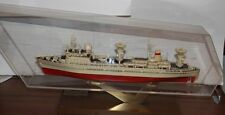 Vintage Soviet Space Control-Monitoring Ship Akademik Sergey Korolev Desk Model