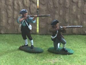 2 Barzo LOD American militiamen War of Independence Lowlander Jacobite Rebellion