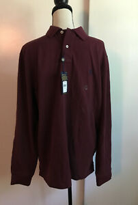 RALPH LAUREN Polo Mens long sleeve Polo XL Tall Nwt Retail $89