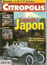 CITROPOLIS 19 CITROEN JAPON C6 COUPE SALON 1928 CORBILLARD BX 4TC EVOLUTION
