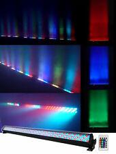 Rockville ROCKSTRIP 252 LED 5 Channel DMX RGB Color Strip DJ Wash Up Light Bar