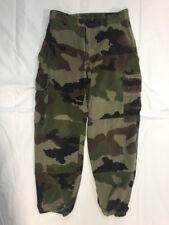 Pantalon de treillis Armée Française modèle F2 camouflage OTAN taille 80L