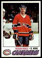 1977-78 Topps Rejean Houle #241