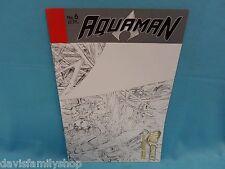 Aquaman #6 Sketch Variant Dc New 52 Comic Comics Fine/Very Fine Condition