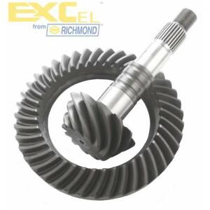 """EXCel Differential Ring and Pinion GM75373OE; 3.73 for GM 7.5"""" & 7.625"""" 10-Bolt"""