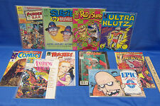 Mature Comic Books Satire Lot of 10 Whacked Spawn Dark Horse Protector Many More
