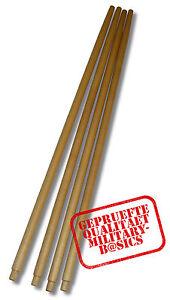 Holzstangen für das US Army Feldbett Moskitonetz Militär Pole, Folding Cot
