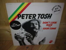 """PETER TOSH don't look back 12"""" MAXI 45T"""