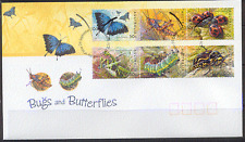 Australia 2003 Bug N Butterflies/Insects 6v FDC s5921