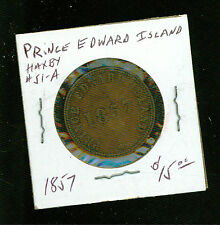 1857 Prince Edward Island Haxby # 51 A Self Government and Free Trade Token