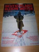 DEUTSCHLAND BLEICHE MUTTER - Kinoplakat A1 - EVA MATTES Ernst Jacobi