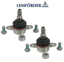 For BMW E84 E90 E91 E92 Pair Set of 2 Front Rearward Ball Joint OEM Lemfoerder