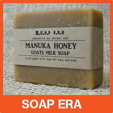 Manuka Honey & Fresh Goats milk Soap - all natural cold process handmade soap