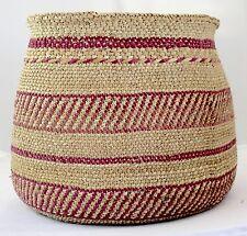 Handmade African Milulu Basket