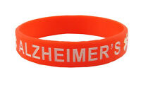 Silicone Medical ID Bracelet Alzheimer's size 8 large