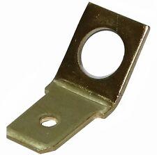 100x Cosses électriques plates 6.3mm 0.8mm 45° mâles M5 à languette pour CI
