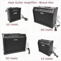 Haze 10W,15W,30W,40W Guitar Amplifiers,Brand New,Black,Combo Amplifier