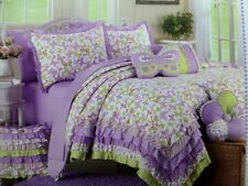 NWT NIP MAGGIE MILLER Lavender Purple POLKA DOT Twin SOFT TOUCH Sheet Set 3 Piec