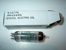 2 VALVOLE 6X4 NUOVE CON IMBALLO GENERAL ELECTRIC