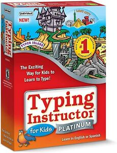 Individual Software Typing Instructor For Kids Platinum Windows 10, 8, 7
