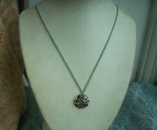 Fine Sterling Silver Amethyst Garnet Peridot Citrine Iolite Pendant Necklace