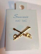 """CIVIL WAR Brass CAVALRY Hat Badge / Pin /Ornament /Insignia 1"""" Repo new  # 70555"""