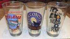 Lot Of 3 Pint Glasses Bar Pub Steelhead Cryin Coyote Dead Guy Ale