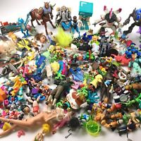Massive Lot of Action Figures Boys & Girls Disney DC Vintage etc.