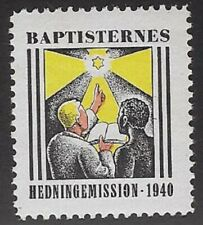 Denmark Poster stamp: Danish Baptist African Congo Mission, 1940 -  cw69.6