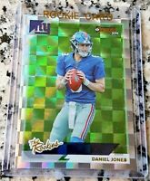 DANIEL JONES 2019 Donruss #1 Draft Pick XFractor Rookie Card RC New York Giants