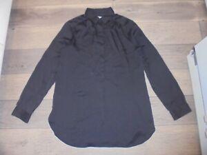 Ann Taylor LOFT black tunic blouse size M