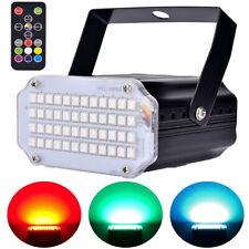 48 LED Stroboskop Disco Licht,Sound aktiviert Party Lichter Strobo Light für Bar
