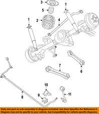 Jeep CHRYSLER OEM 07-11 Wrangler Rear-Shock Absorber or Strut 68027795AB